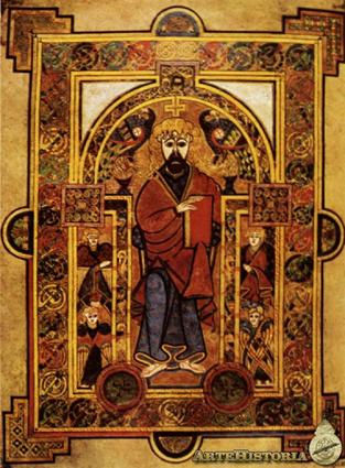 Libro de Kells, Irlanda (800 d.C.)